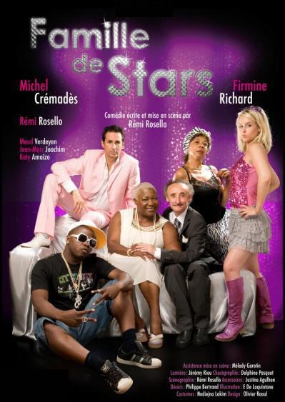 Affiche famille de stars modif